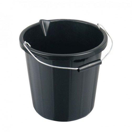 15 litre Black Builders Bucket