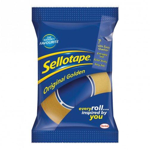 Sellotape Golden Tape 24mmx33M 1443254