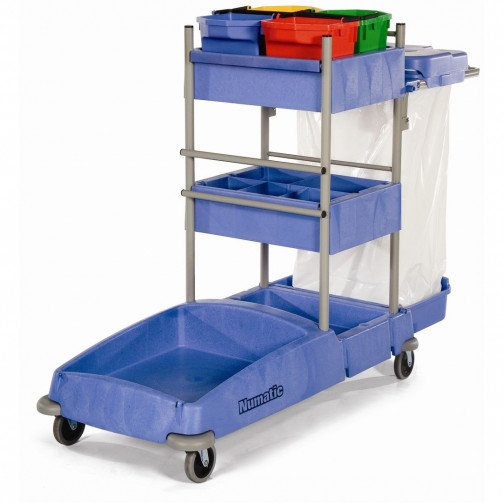 Numatic Cleaning Trolley VersaClean Maxi