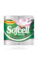 Sofcell Toilet Rolls 2ply White x 40 Rolls