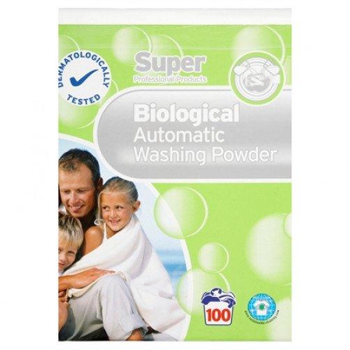 Super Biological Washing Powder 8.1 kg 100 Wash