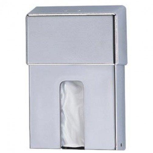 Sanitary Disposal Bag Dispenser Bright S/S