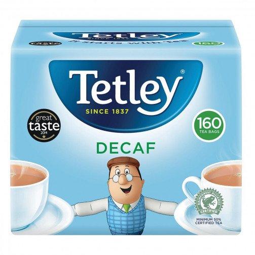 Tetley Decaff Tea Bags Qty160 3750A