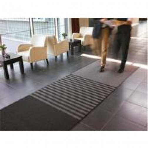 Tripleguard Brush and Wipe Floor Mat