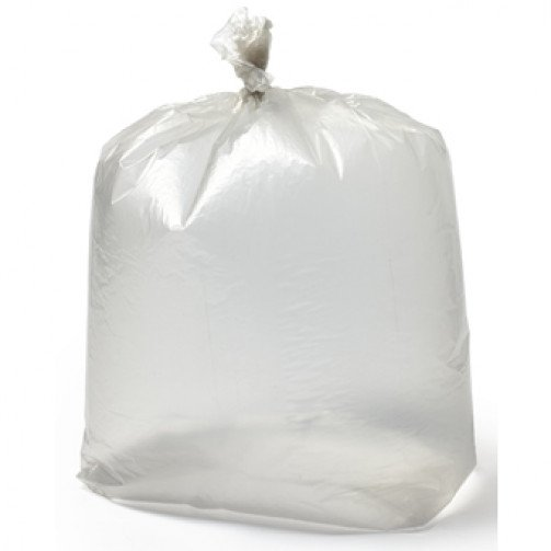 Clear Refuse Sacks 20x38x45 LRG Heavy Duty x 100 CHSA