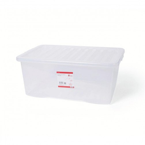 5 Star Storage Box 45L Clear