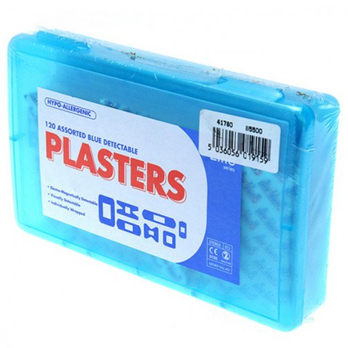 Blue Detectable Plasters x 120
