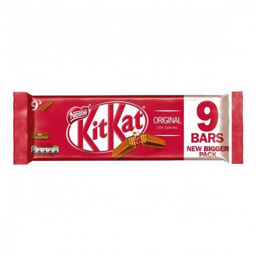 Kit Kat 2 Finger Milk 20.7g Pk9