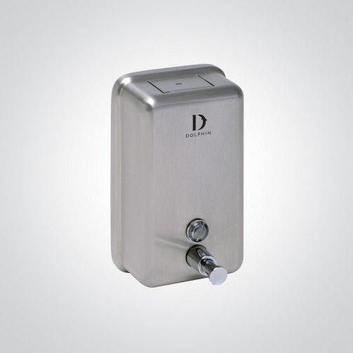 S/Steel Soap Dispenser 1200ml Bulk Fill