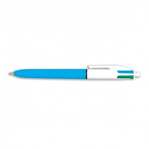 Bic 4-Colour Ball Pen Single 802077