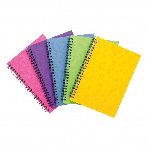 Sidebound Notebook A5 Asst C Pk10