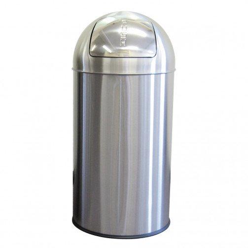 Push Bin 50 Litre Stainless Steel