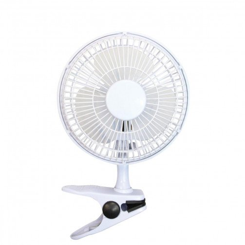 5 Star Fcl Clip-on Fan 6inch White