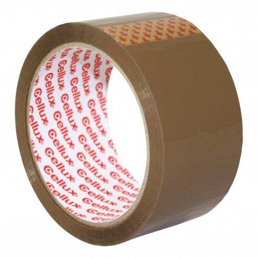 Sellotape Cellux Buff Tape 48mmX50m 0550