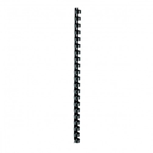 5 Star Plastic Combs A4 12mm Black Pk100