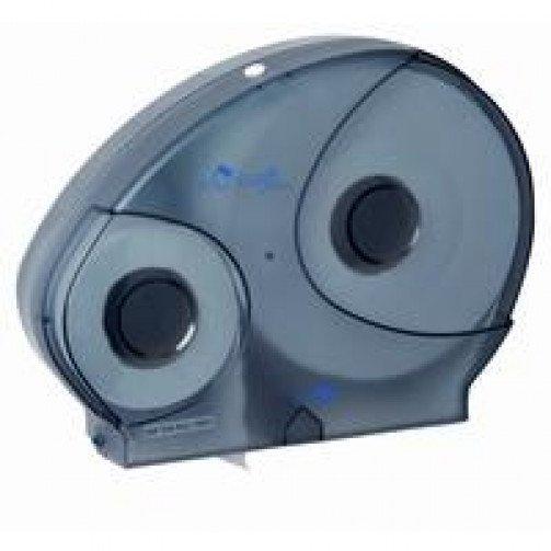 Blue Jumbo Reserve Toilet Roll  Dispenser