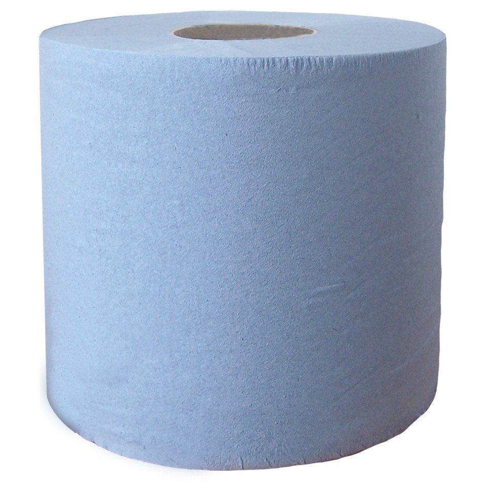 Blue Roll Industrial 2ply X 2 Janitorial Direct Ltd