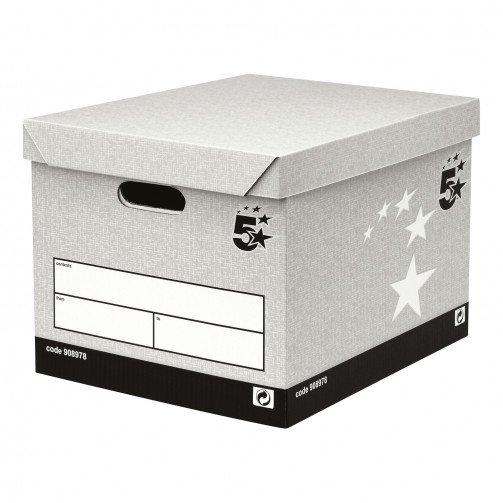 5 StarFacilities StorageBox GreyFSC Pk10