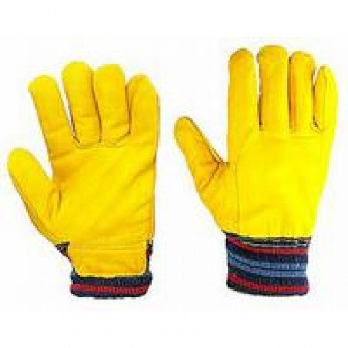 Fleece Lined Leather Glove