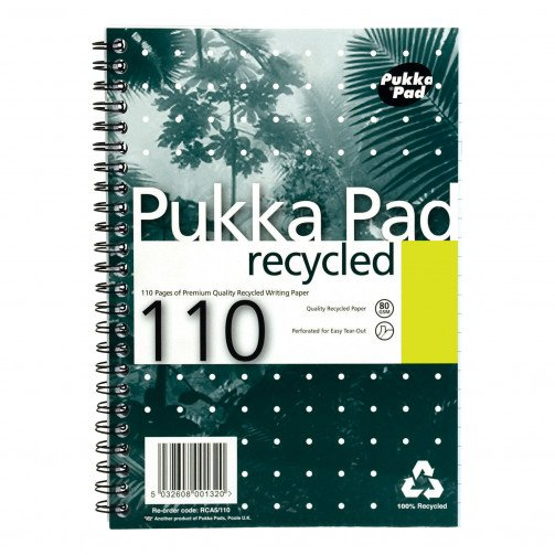 Pukka Pad Rcyc Wbnd Nbk A5 RCA5/110