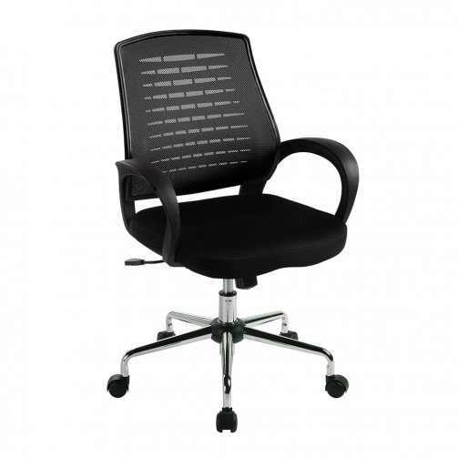 Volga Black - Mesh Back Operator'S Chair  Black