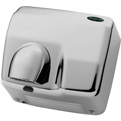 Chrome Automatic Hot Air Hand Dryer