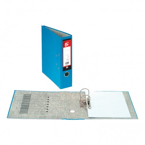 5 Star Office Lever Arch File Fcap Blue