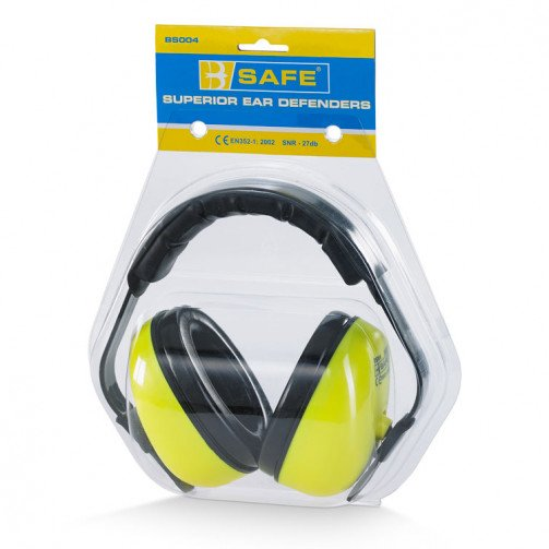 Hi-vis superior ear defenders
