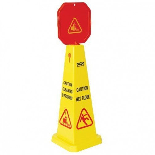High Visibility Wet Floor Cone