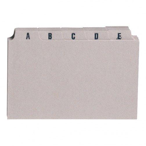 5 Star Guide Card Set 6x4 A-Z Buff