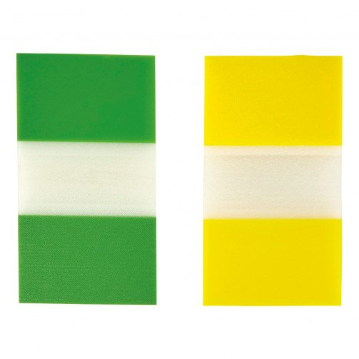 5 Star Index 2x50 Sheets Yellow Green
