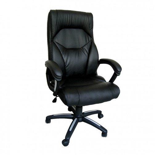 ReoGrande Black - Pu Managers Chair Black