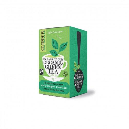Clipper Organic Green Tea Pk25