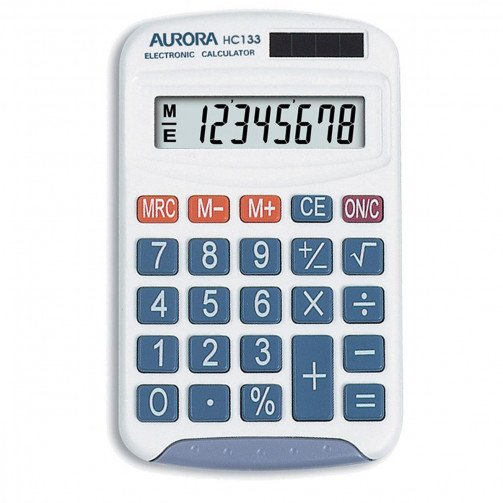 Aurora Handheld Calculator HC133