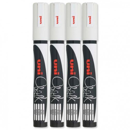 Uni Chalk Mrkr Med PWE-5M Wht 153494342