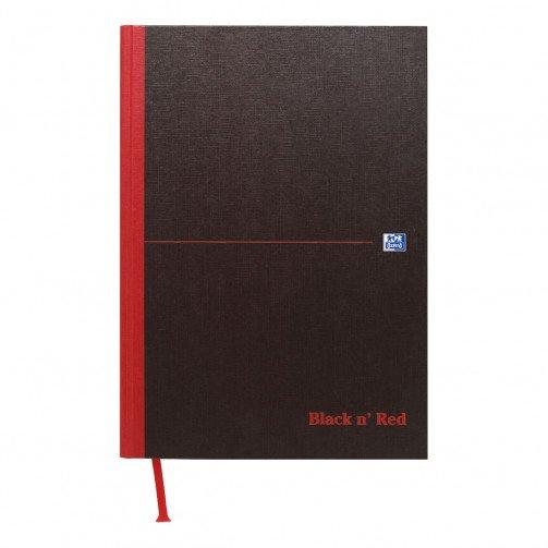 Black n Red Book A5 96Lf Feint 100080459