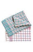 Tea Towels Check x 10