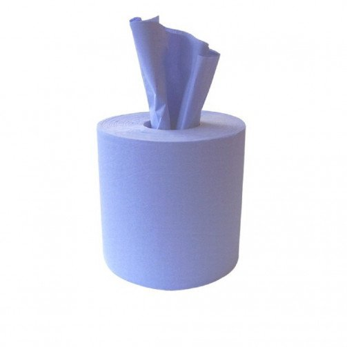Blue Roll Centrefeed 3ply - 144m x 190mm x 6