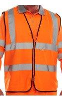 Click Fire Retardant Hi-Vis Waistcoat