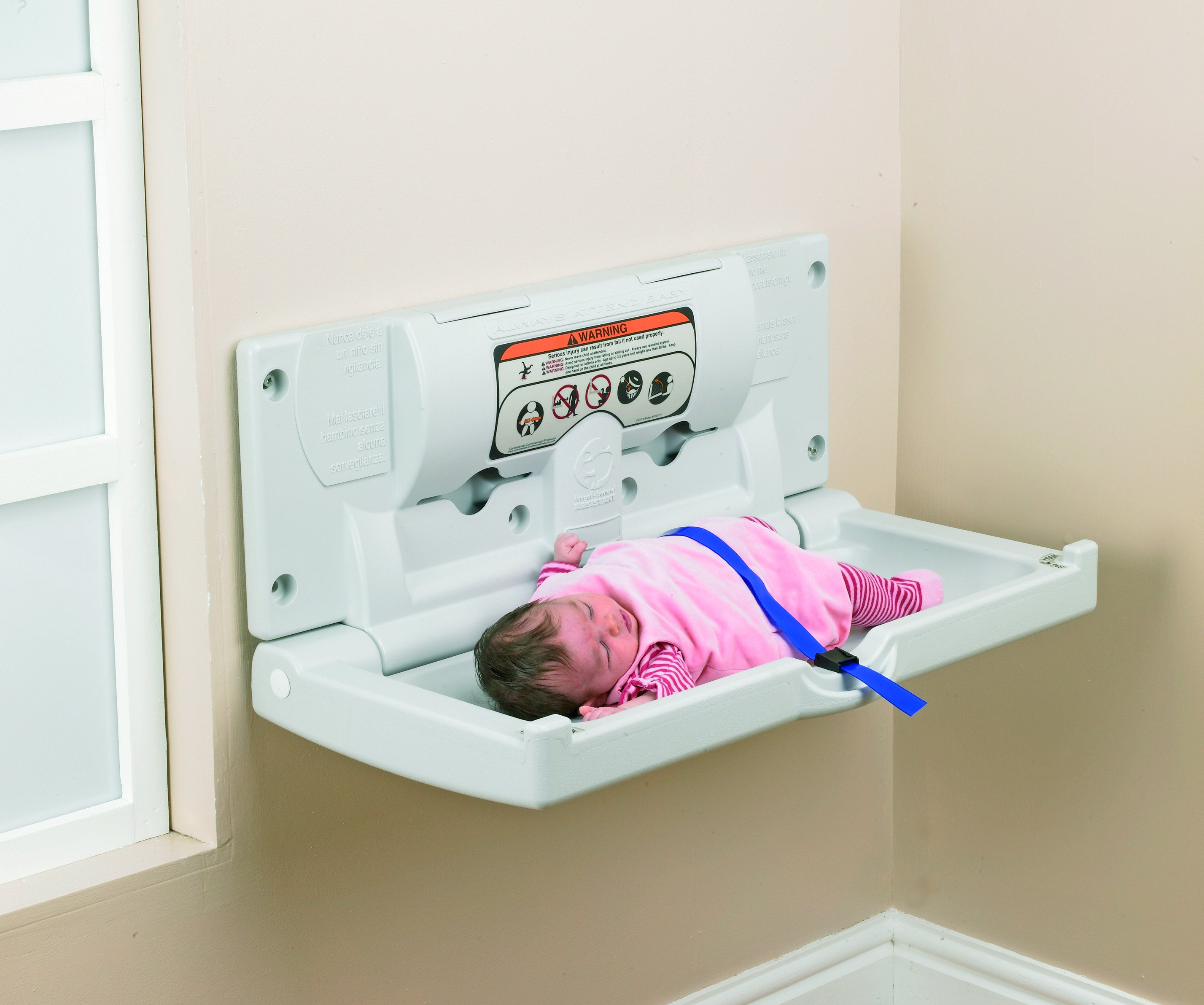 Baby Changing Unit Horizontal Janitorial Direct Ltd