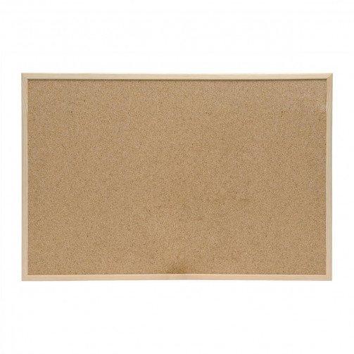 5 Star Eco Cork Board Wdn Frame 900x600