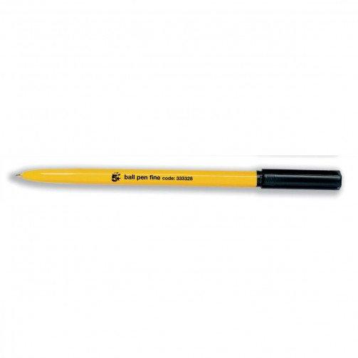 5 Star Office Fine Ball Pen Black
