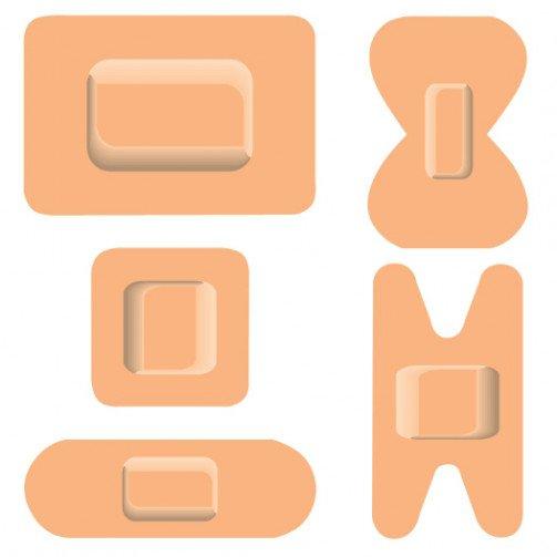 W/C Fabric Plasters Asstd 1210024