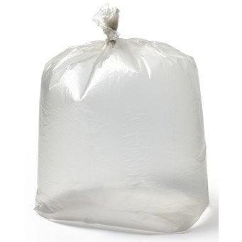 x200 Extra Heavy Duty Black Bin Rubbish Bag Refuse Sacks 18x29x39 20kg