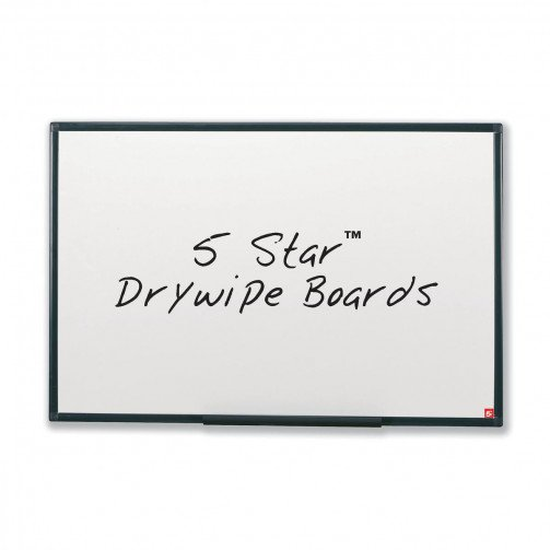 5 Star Drywipe Non-Mag Board 600x450mm
