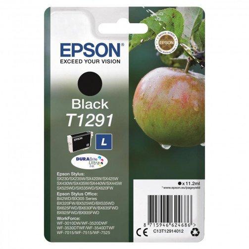 Epson T1291 IJ Cart Blk L C13T12914012