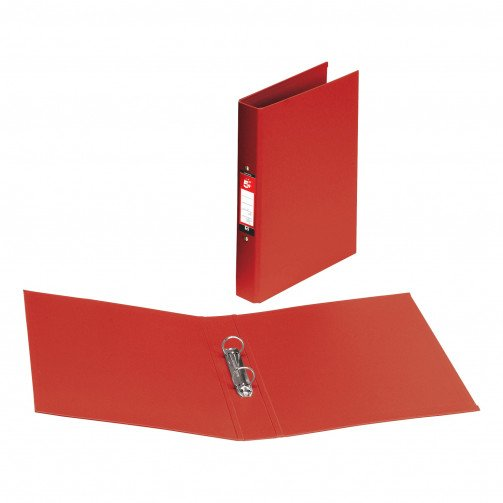 5 Star 2R/Binder A4 PP Red