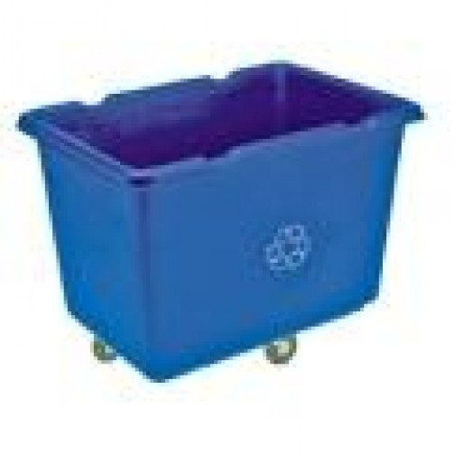 Bulk Recycle Truck Blue