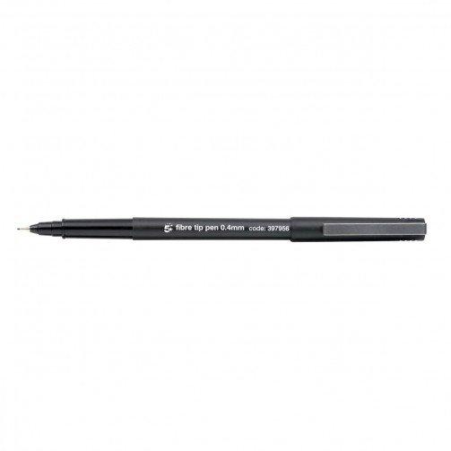 5 Star Office Fibre Tip Pen Black