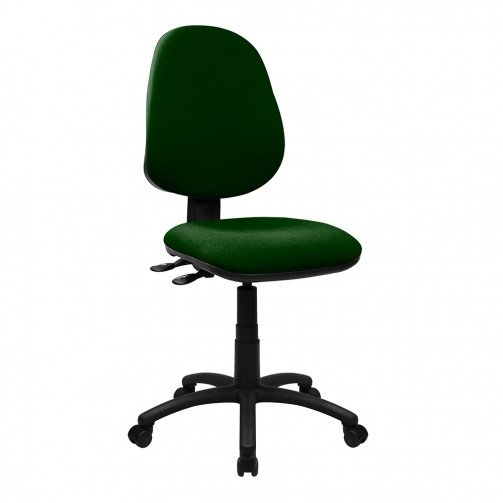 Nile 300 Green - High Back Synchronised Operator Chair  Green